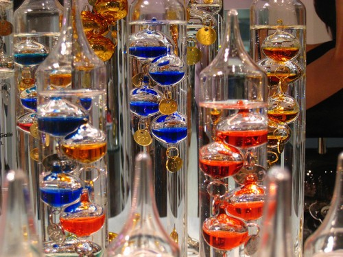 galileo thermometer 2